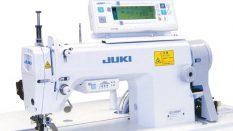 JUKI DLU-5494N-7IP110 Transportlu Step Motorlu Mola Programlı Elektronik Kilit Dikiş Makinası
