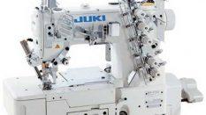 JUKI MF-7723-E10/MD10 Üç İğne Karyokalı Sağdan Bıçaklı Dantel Lastik Reçme Makinası